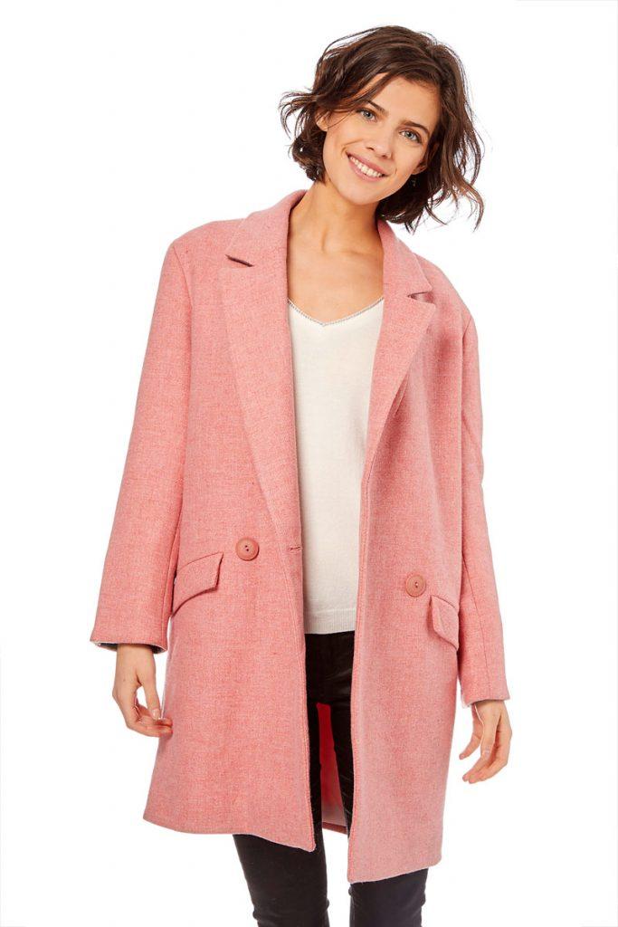 Naf Naf manteau en laine