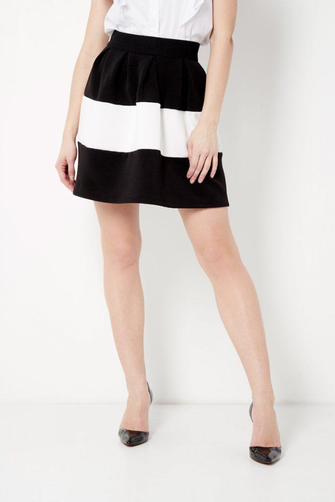 Rinascimento jupe plissée