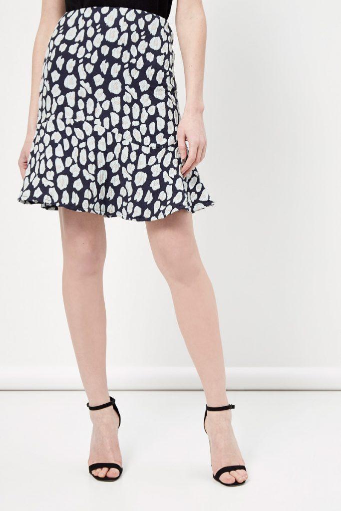 Sinéquanone jupe basque texturée