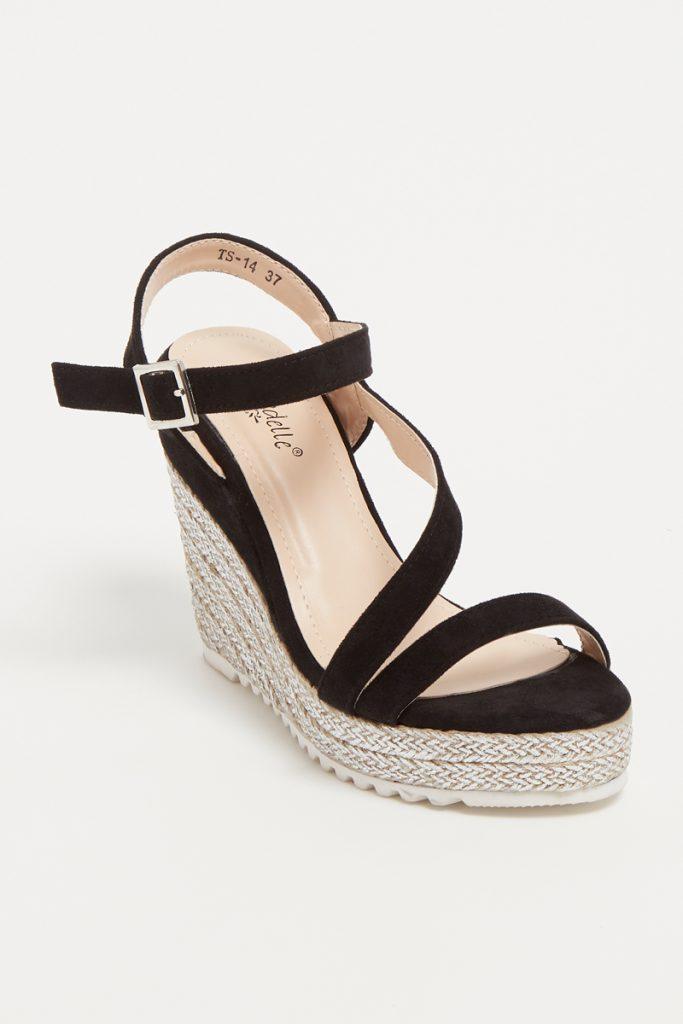 Suredelle sandales compensées