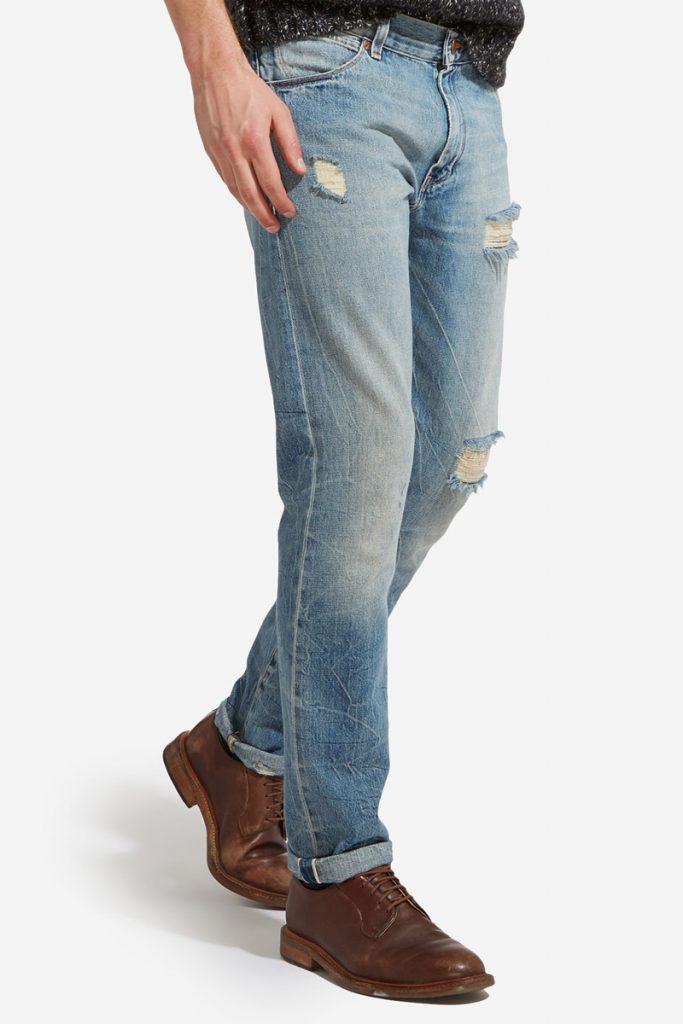 Wrangler jean droit