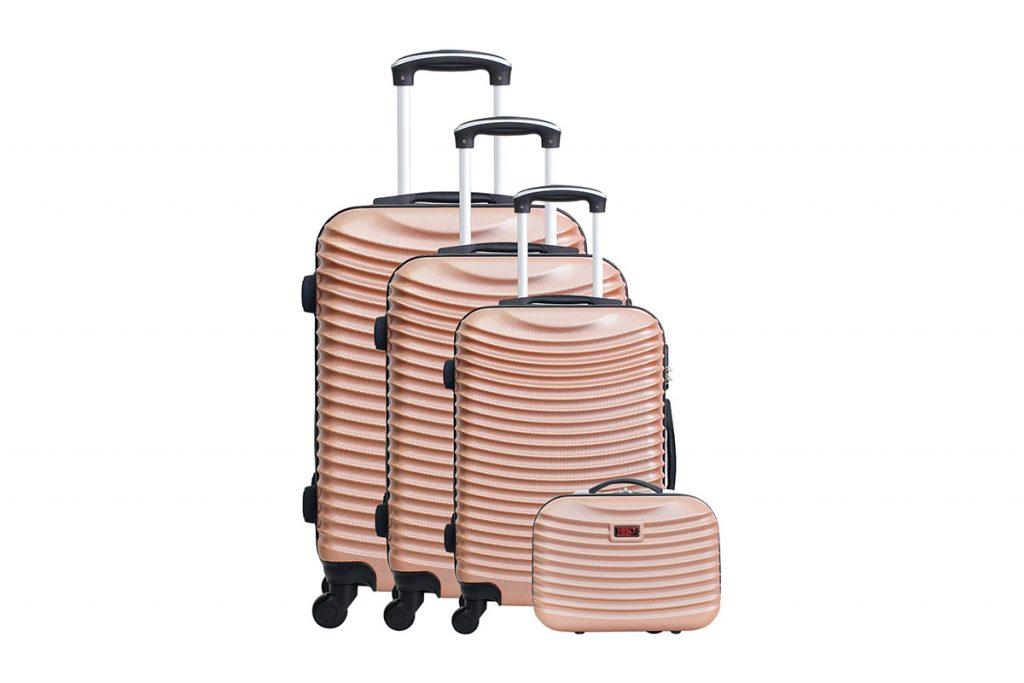 L'Atelier Bagage set de 3 valises et vanity