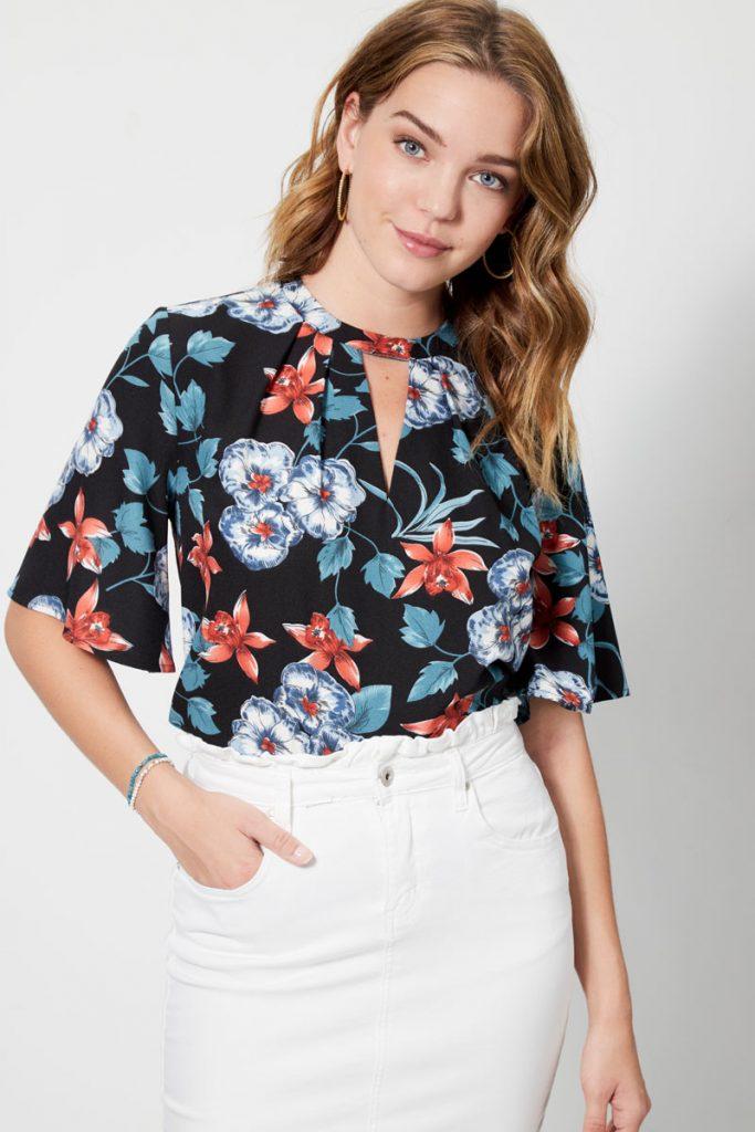 collectionIRL blouse fleuri