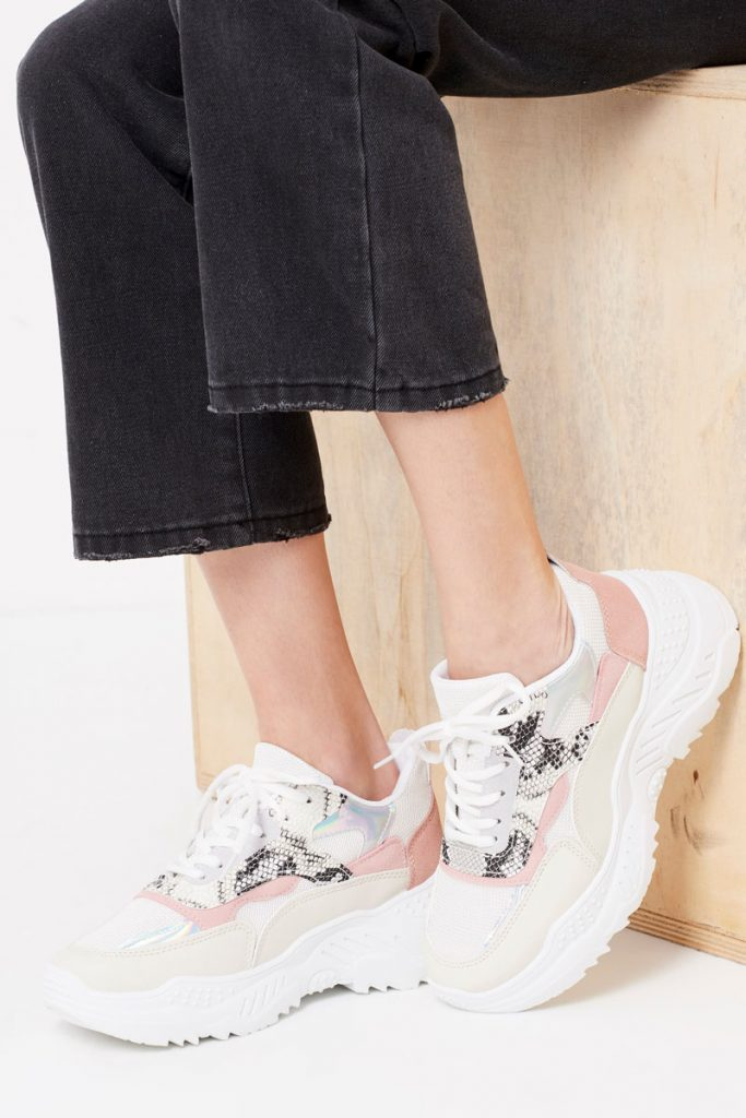 collectionIRL sneakers effet python