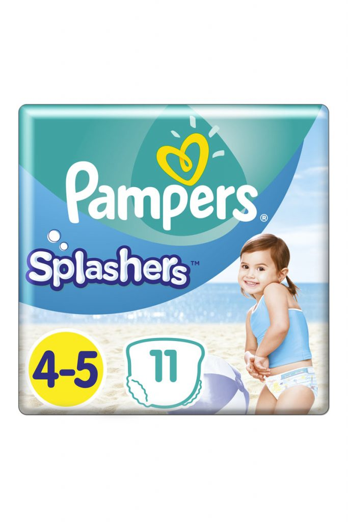 Pampers 22 couches culottes bains