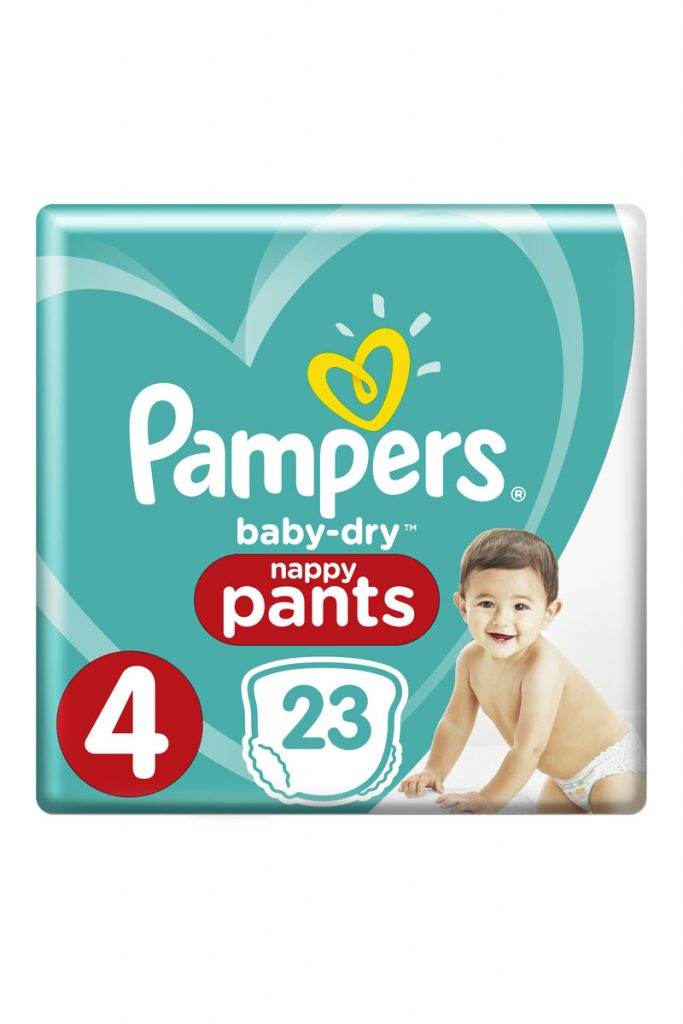 Pampers 92 couches