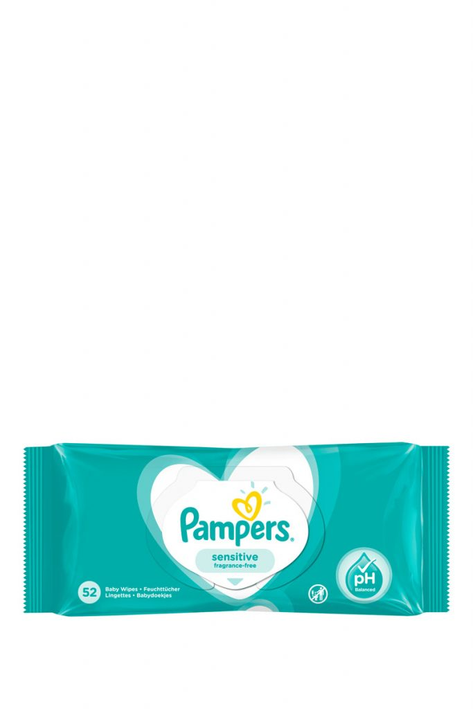 Pampers lingettes Pampers Sensitive