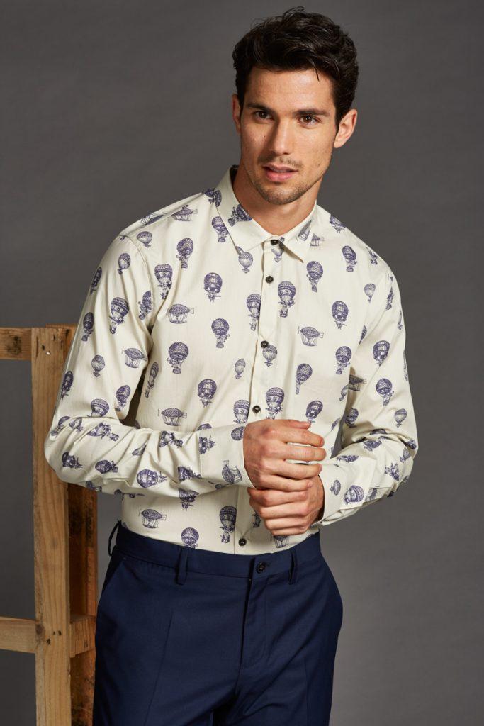 Sisley chemise slim
