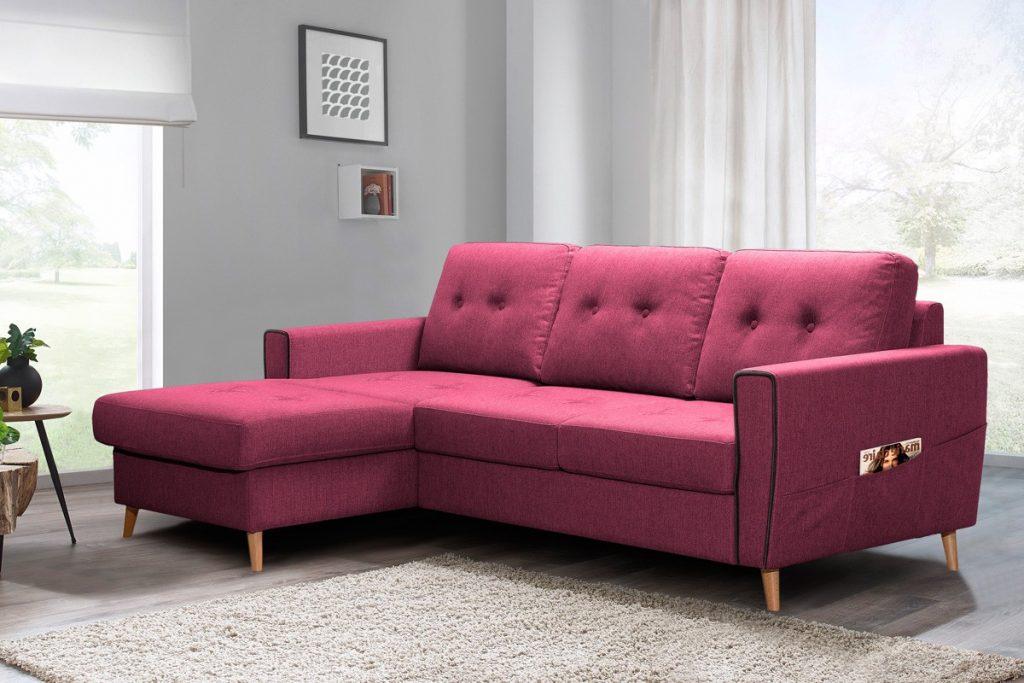 Sofa Factory canapé angle gauche convertible coffee