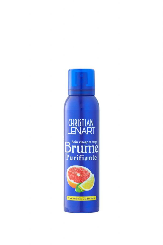 Christian Lénart 2 brumes purifiantes aux extraits d'agrumes