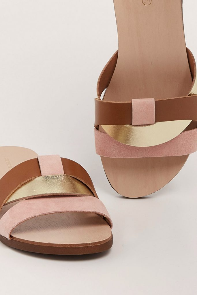 collectionIRL mules en cuir