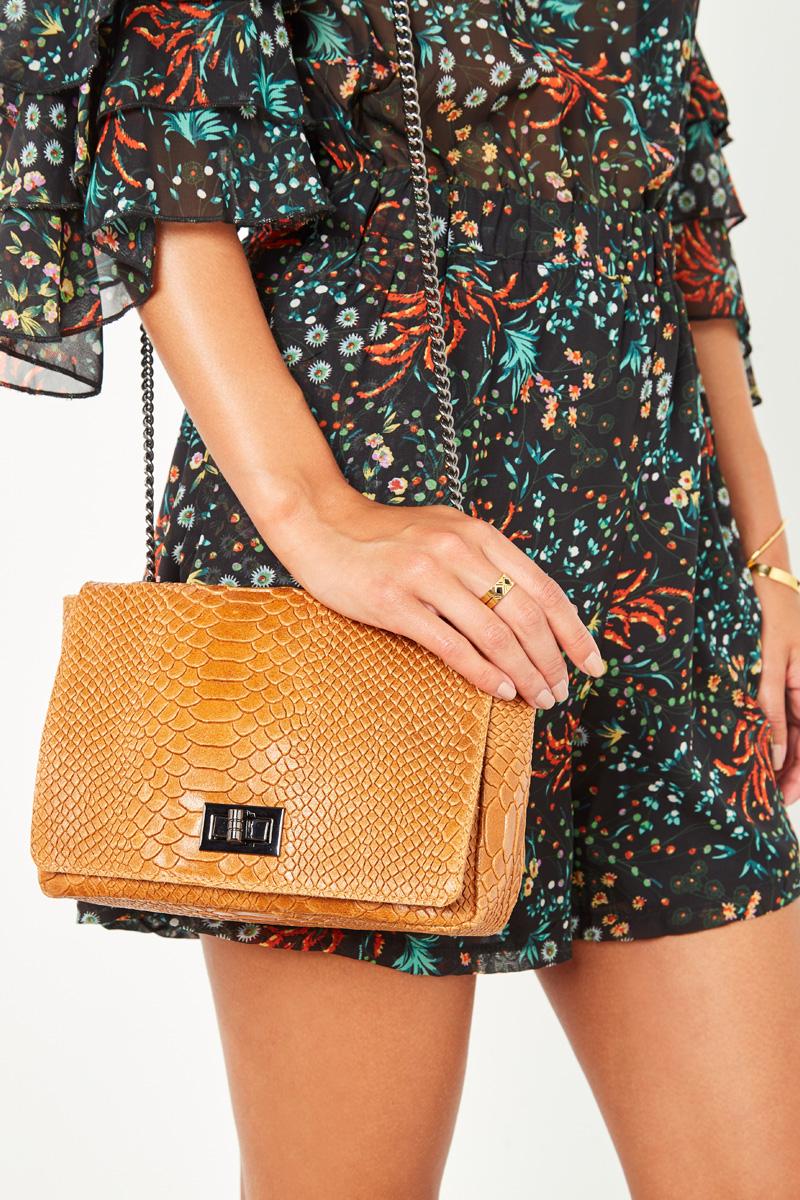 sac a main italien cuir noir showroomprive