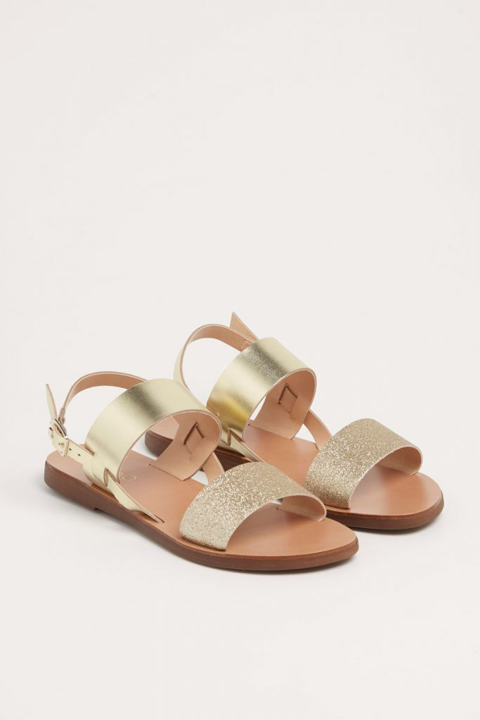 collectionIRL sandales en cuir