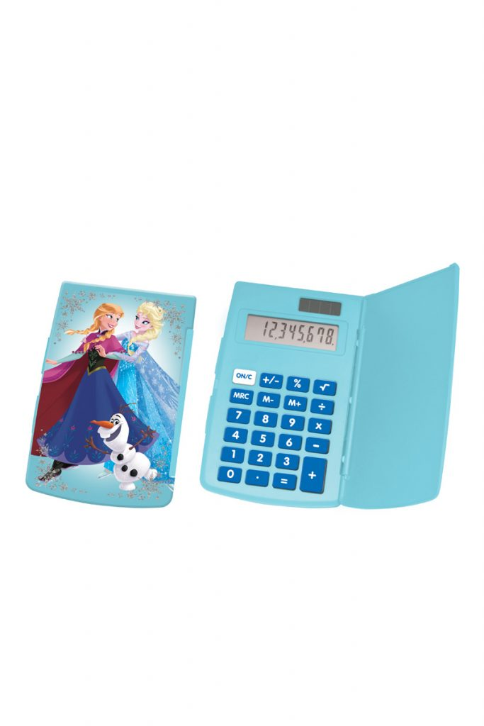 Disney calculatrice de poche La Reine des Neiges