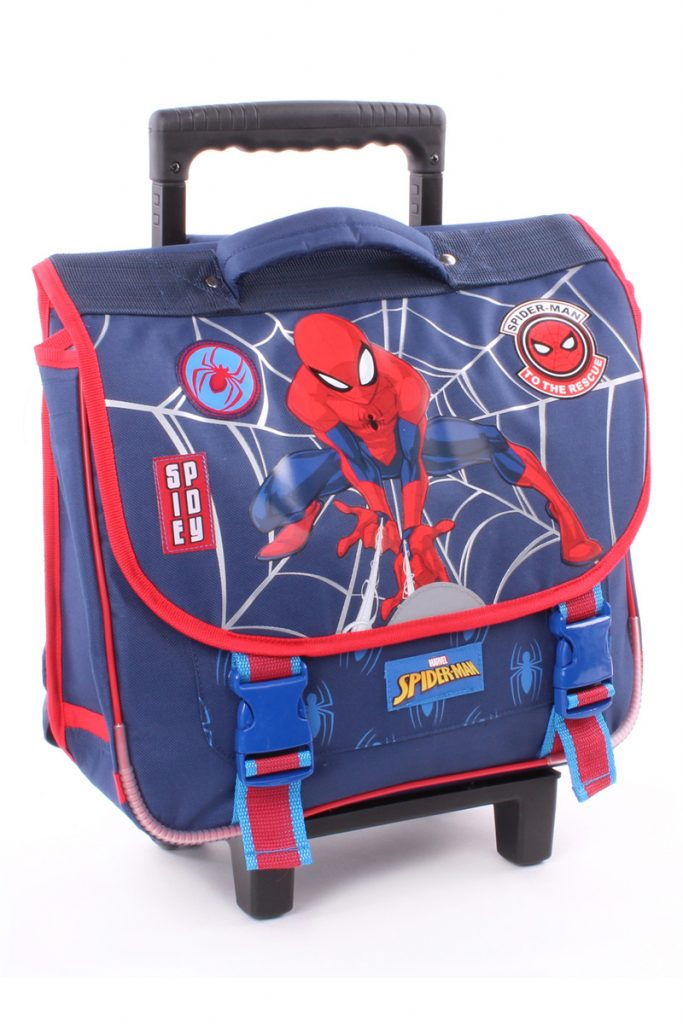 Disney cartable à roulettes Spider-Man