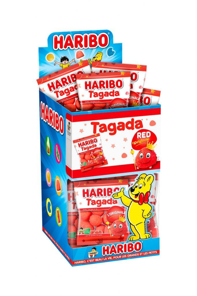 Haribo mini sachets Tagada