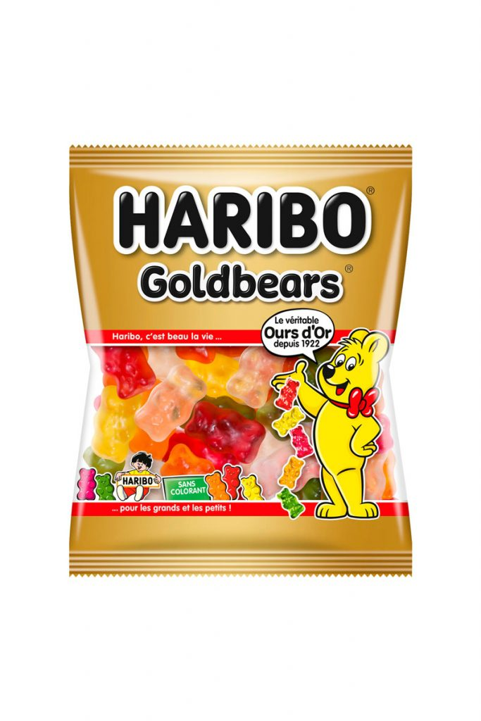 Haribo mini sachets Goldbears