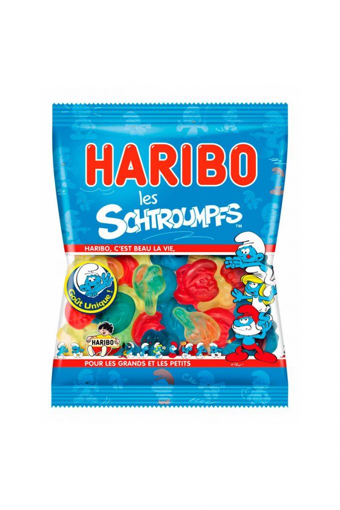 Haribo mini sachets Schtroumpf