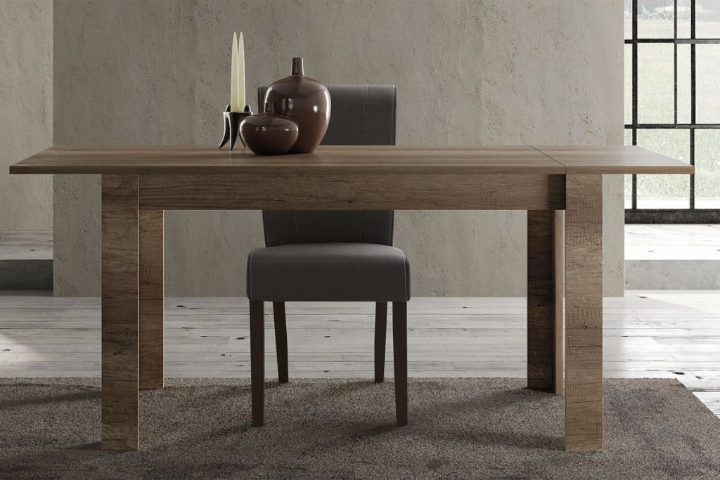 Mobilier laque bois table