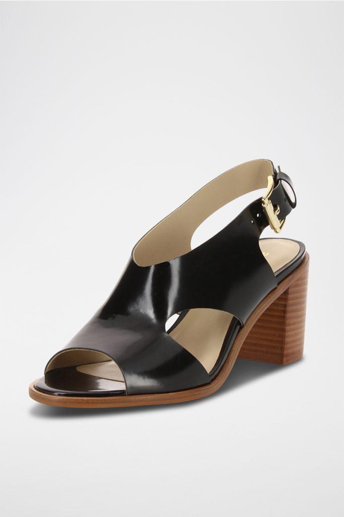 San Marina sandales à talons en cuir