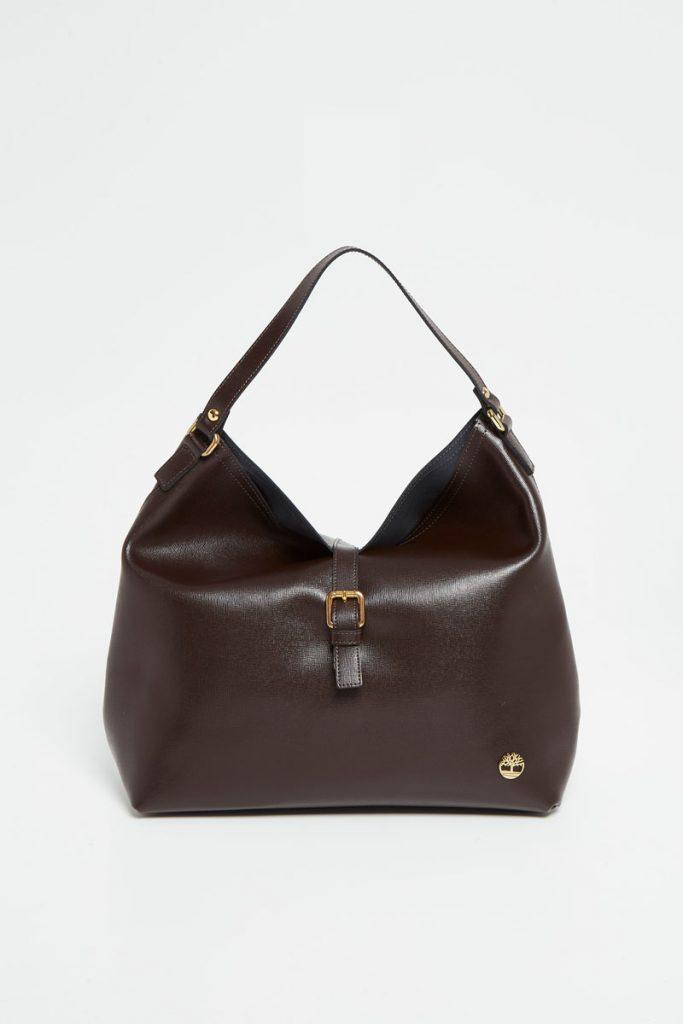 Timberland sac porté épaule et pochette en cuir