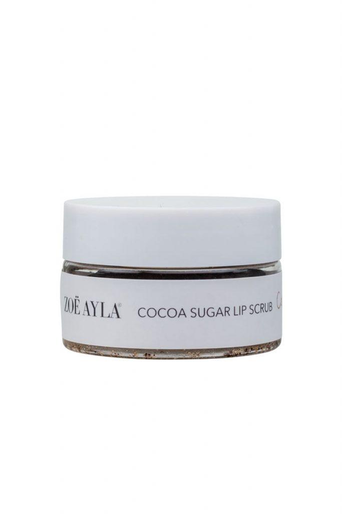 Zoë Ayla gommage pour les lèvres sucre de cacao