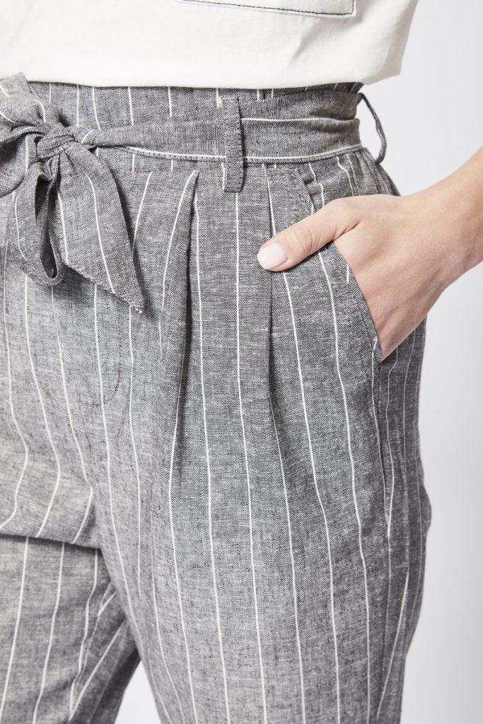 Bershka pantalon taille haute