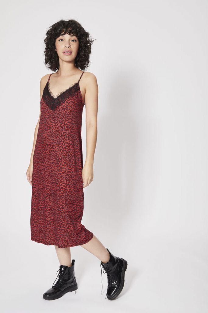 Bershka robe longue