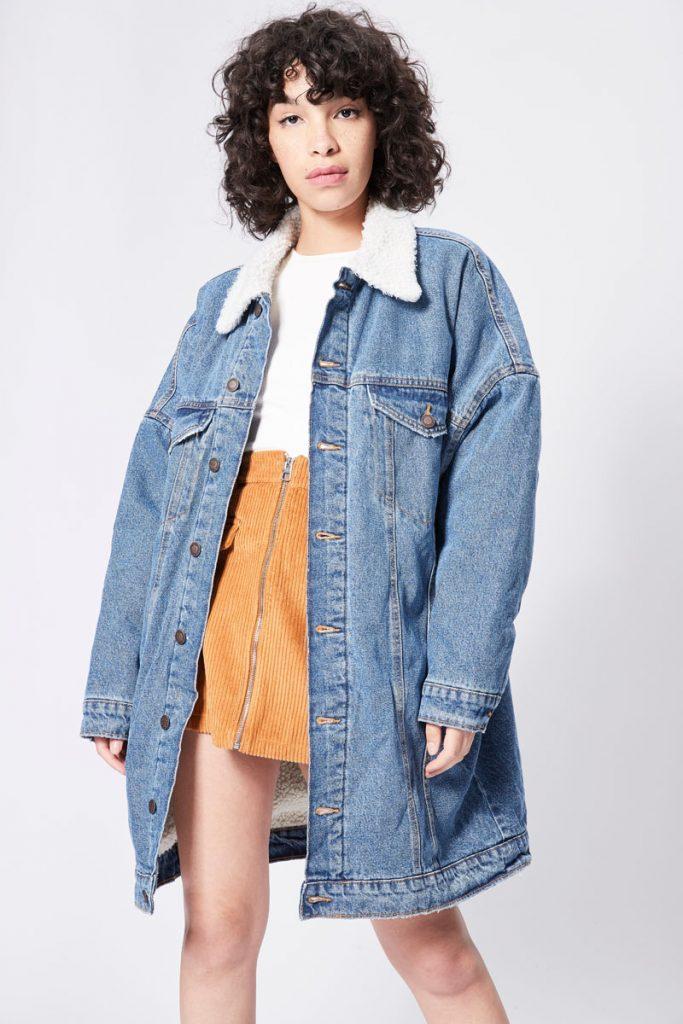 Bershka veste longue