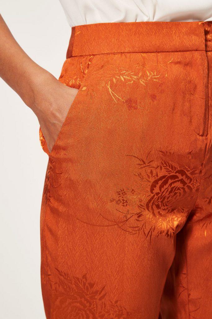 collectionIRL pantalon 7/8 à motifs fleuris imprimés