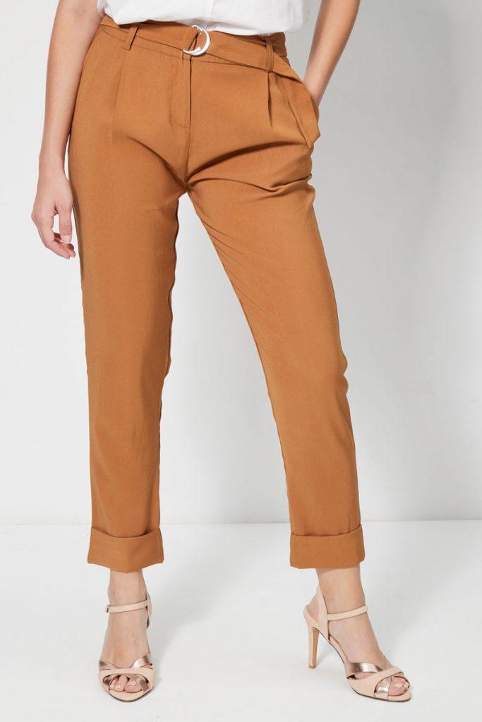 collectionIRL pantalon carotte 7/8