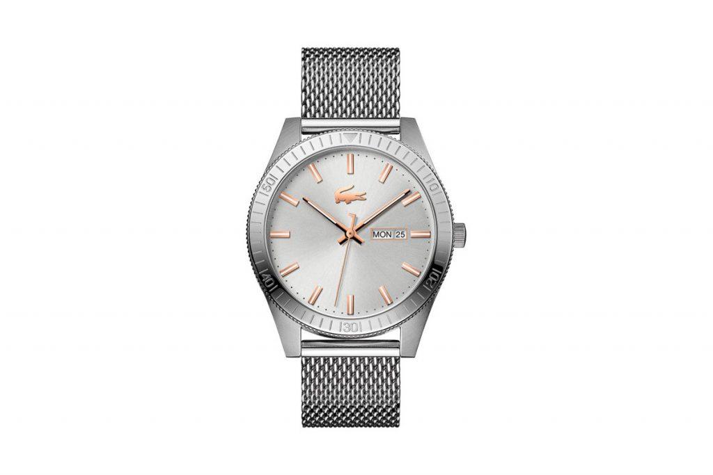 Lacoste montre à quartz en acier