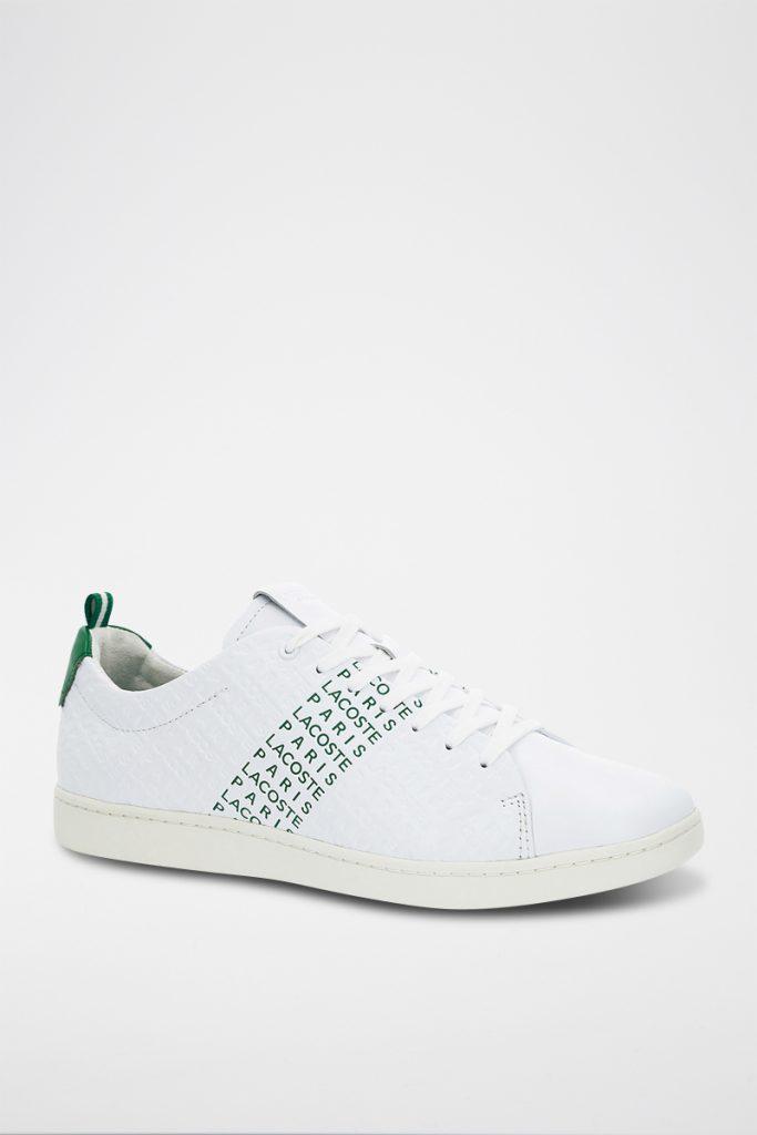Lacoste sneakers en cuir