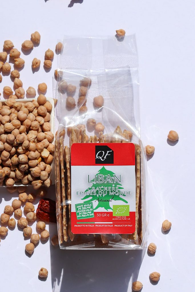 Bio & Diet Food crackers aux épices du monde Liban