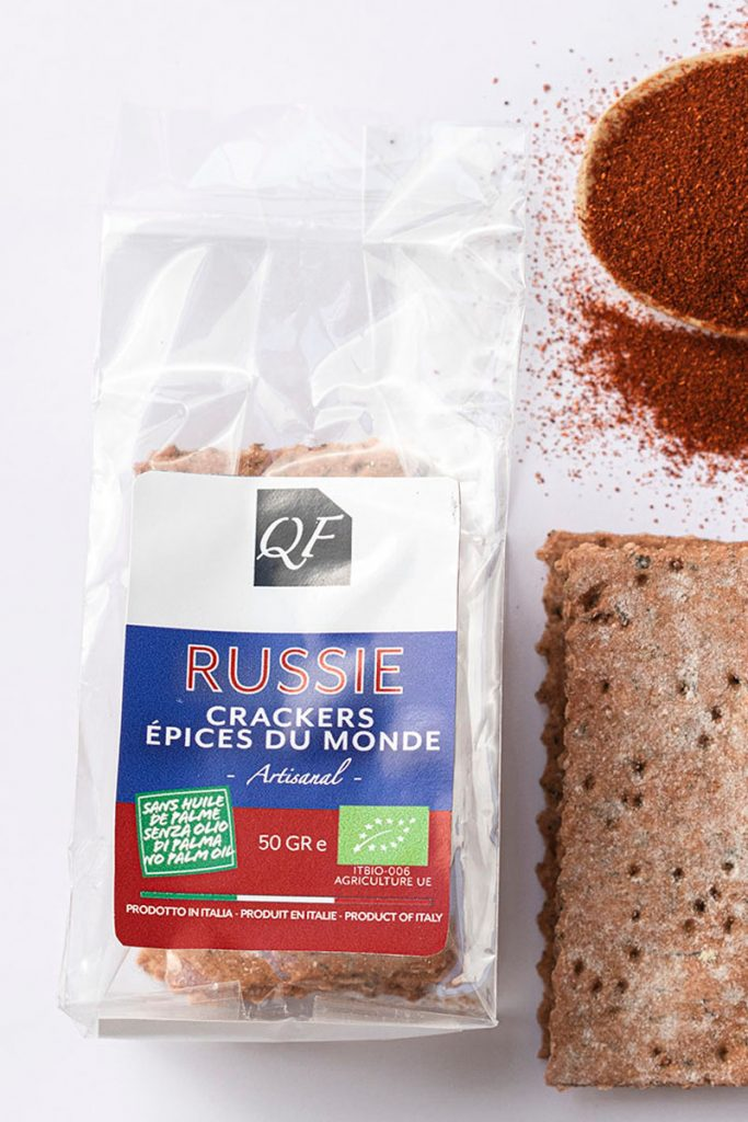 Bio & Diet Food crackers aux épices du monde Russie