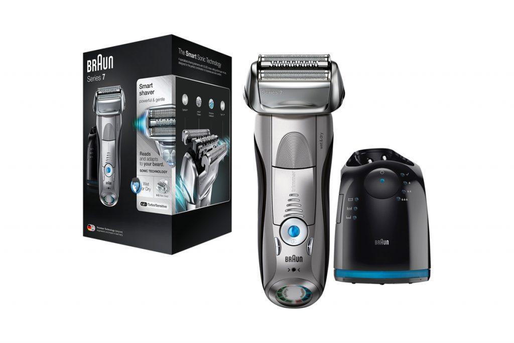 Braun rasoir électrique waterproof sans fil