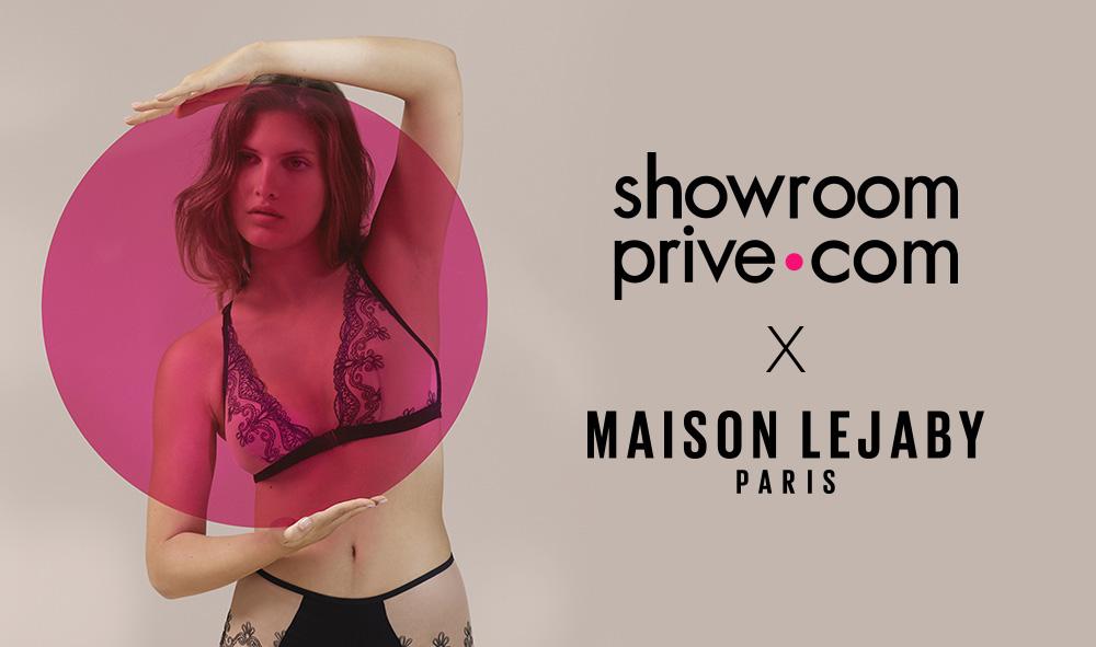 Découvrez la première collection capsule de lingerie Showroomprivé en collaboration avec Maison Lejaby.