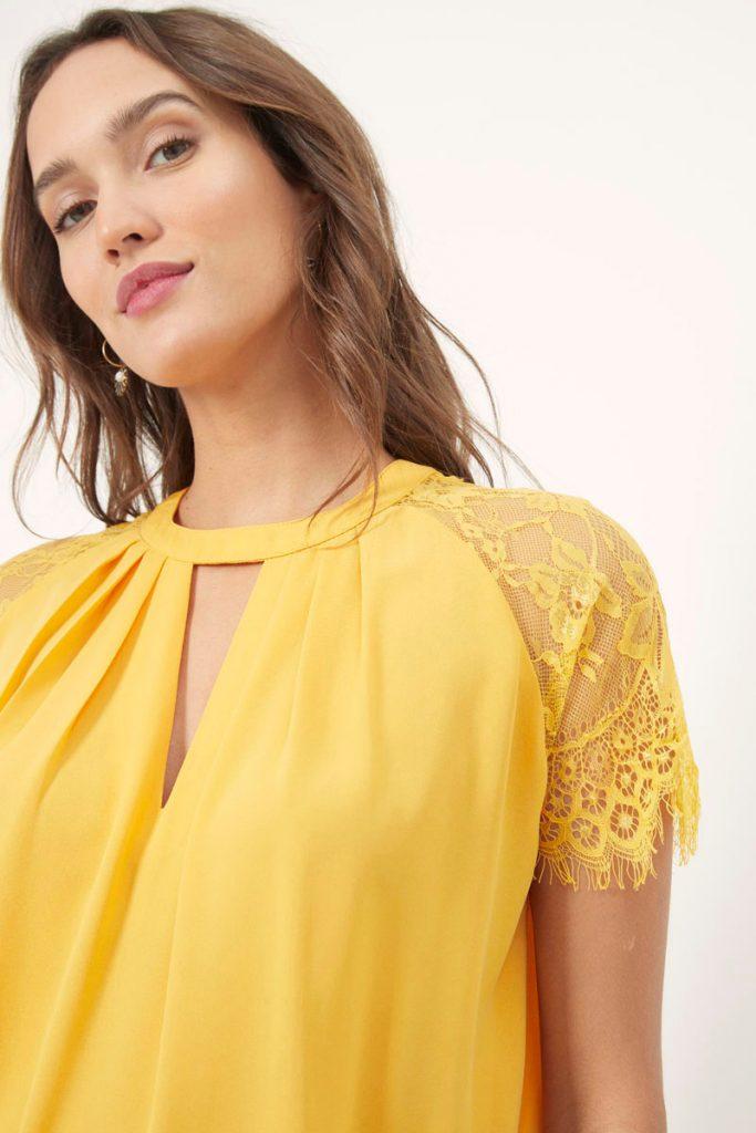 collectionIRL blouse en dentelle