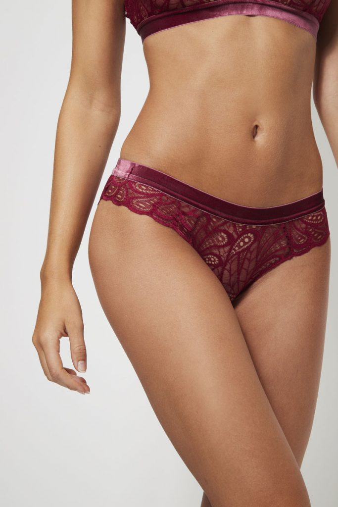 collectionIRL Body culotte en dentelle festonnée