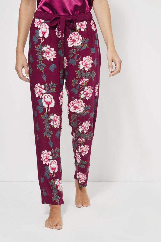 collectionIRL Body pantalon de pyjama fleuri