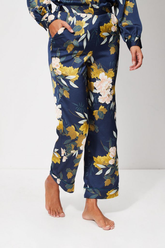 collectionIRL pantalon pyjama satin