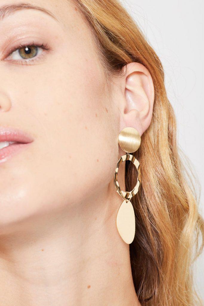 collectionIRL boucles d'oreilles pendantes