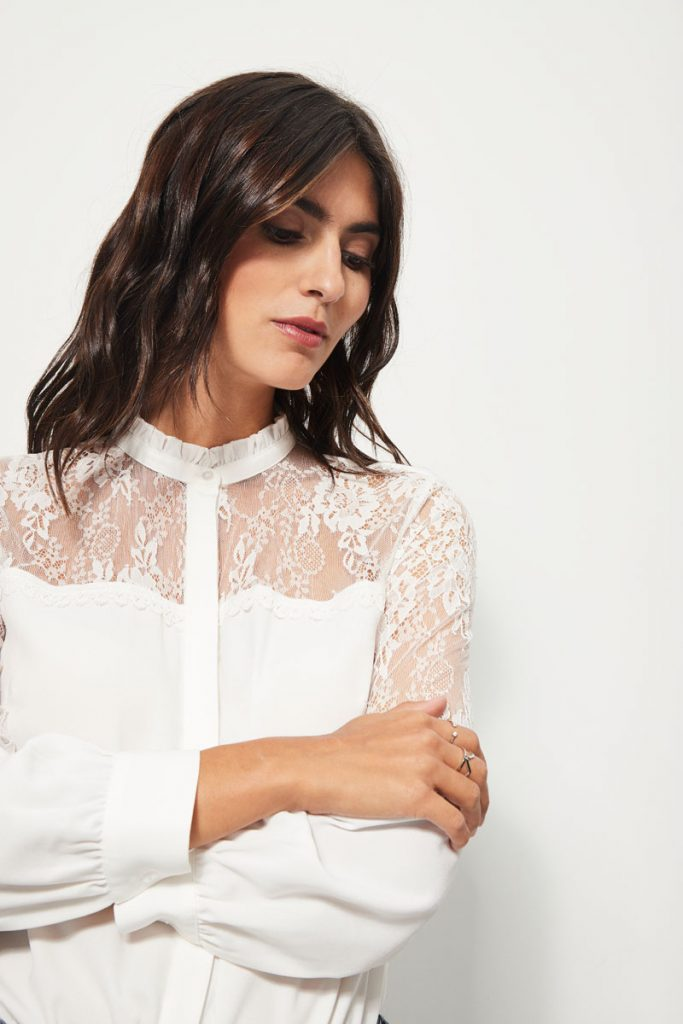collectionIRL chemise dentelle