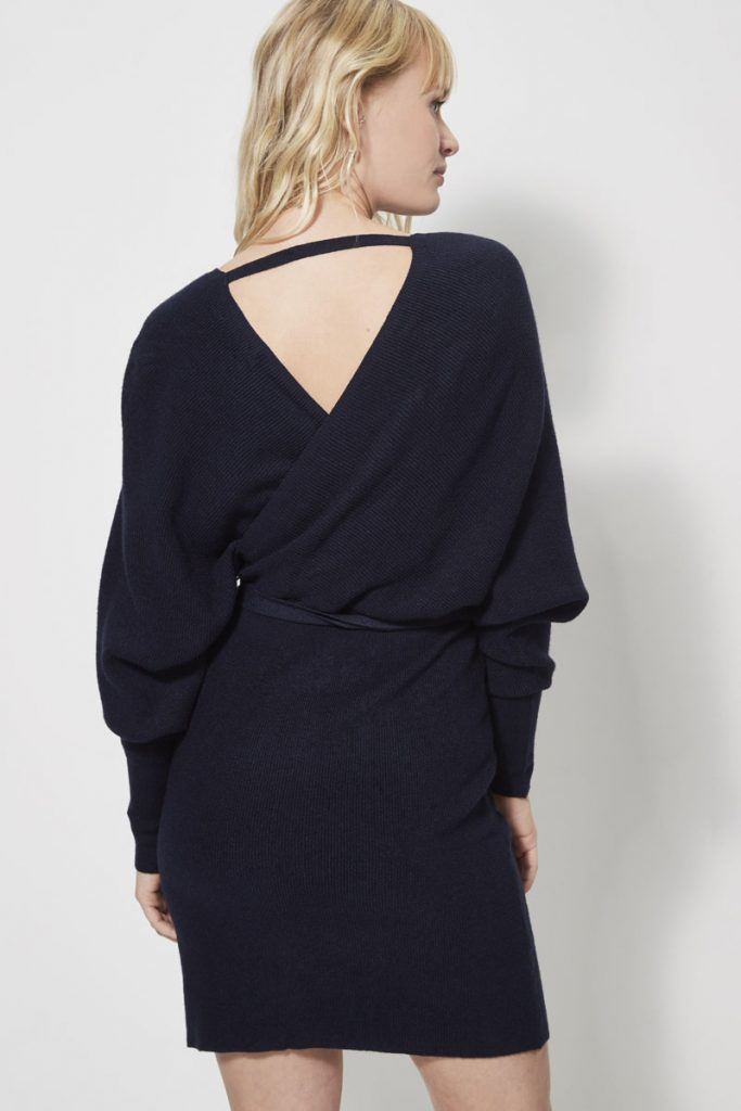 collectionIRL robe-pull effet croisé