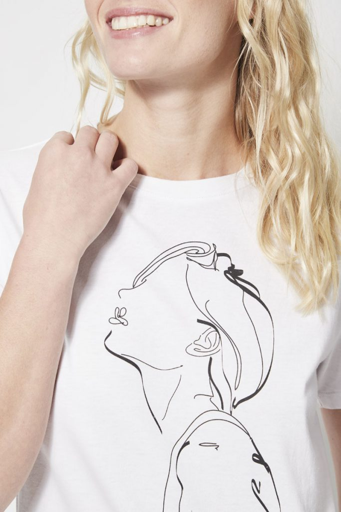 collectionIRL t-shirt à motif femme