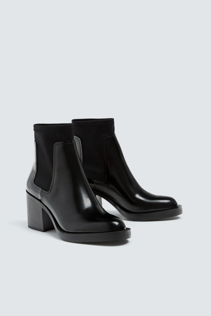 Pull & Bear bottines Chelsea vernies