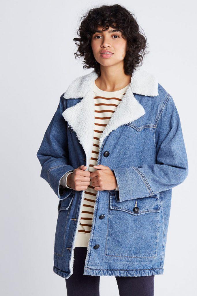 Pull & Bear veste en jean