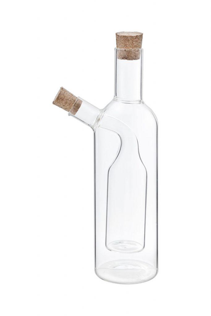 Table hoteliere bouteille huile et vinaigre