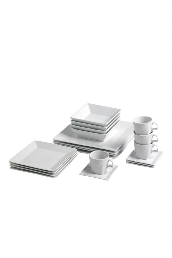 Table hoteliere service en porcelaine