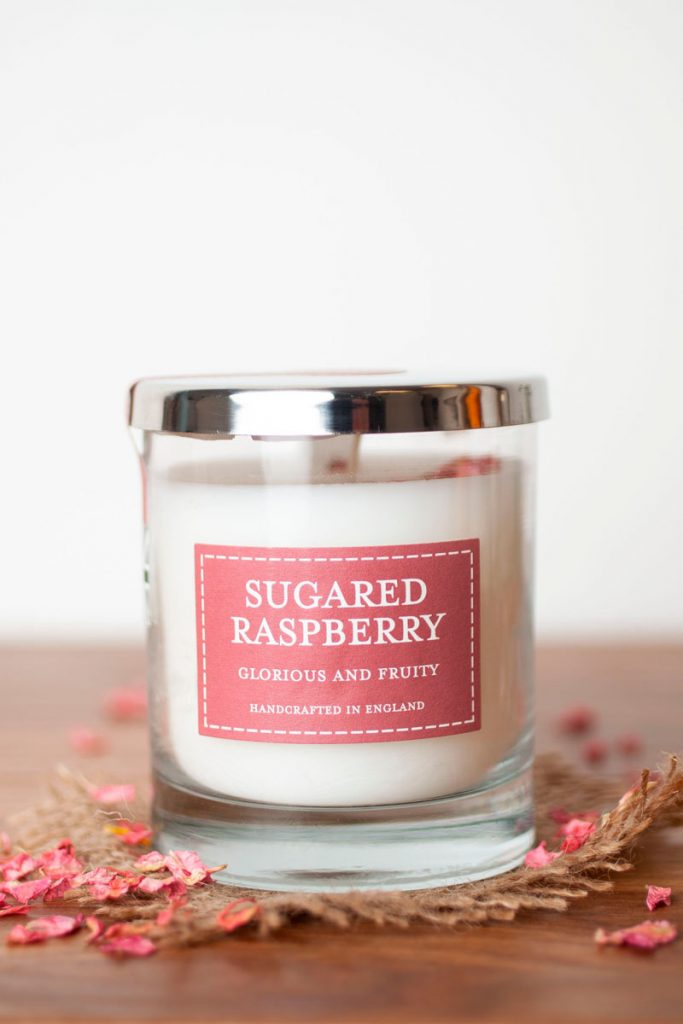 The country candle company bougie parfumée